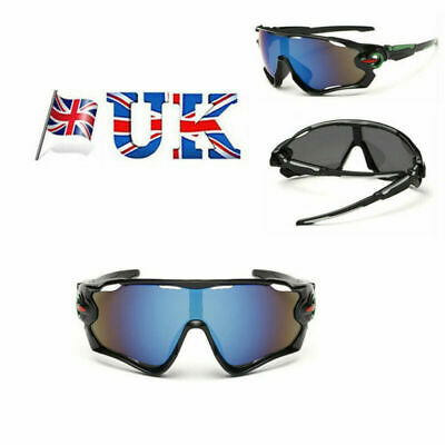 Mens Unbreakable Polarized Cycling Glasses Sports Glasses Sunglasses Goggles • 6.29£