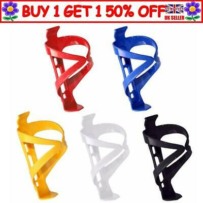 Plastic Water Bottle Cage Holder Bracket For Cycling Bike Bicycle Drink UK STOCK • 3.58£