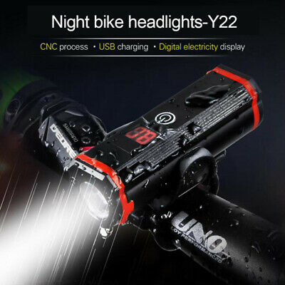 T6 Cycling 15000LM LED Bicycle Bike Lights USB Rechargeable Headlight Front Lamp • 11.99£