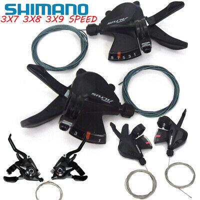 Bike Gear Shifter 3x7x8x9 21 24 27 Speed Shift Lever Cable Trigger Shimano Altus • 16£