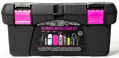 Muc-Off Ultimate Bike Cleaning Kit Nano Tech Cleaner Brushes Cycling Protection • 62.89£