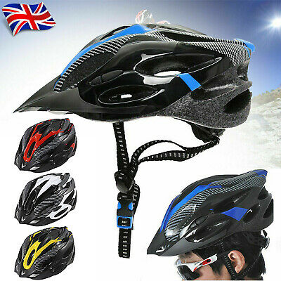 Cycling Bike Helmets Adult Bicycle Rode MTB Mens Ladies Adjustable Safety Helmet • 9.79£