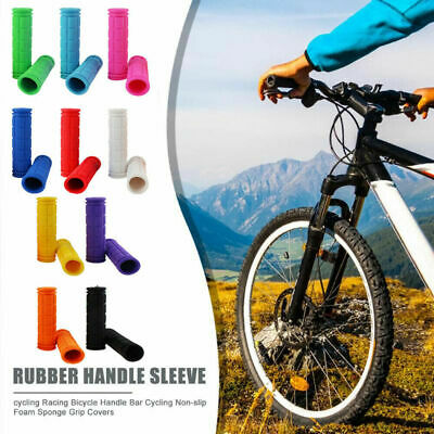 Handlebar Girps For Cycles, Bicycles, Mountain Bikes, MTB, BMX, Adult Kids Bikes • 3.49£