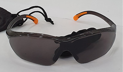 Safety PPE Sunglasses UV Protection For Work/site/sport/cycling- GREY Glasses • 4.99£