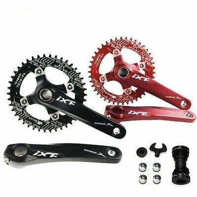 IXF 104bcd MTB Bike Crankset Narrow Wide Single Chainring 170mm Crank+BB Set UK • 29.99£