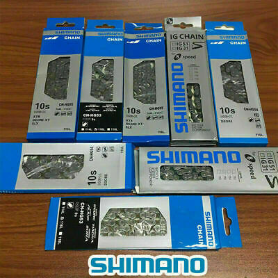 6/7/8/9/10 Speed Bicycle Bike Steel Chain With 116 Links For SHIMANO UK STOCK • 15£