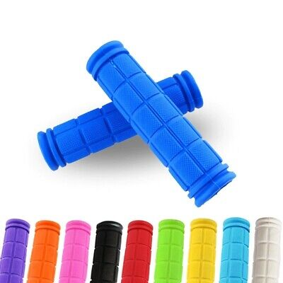 Soft Bike Handlebar Grips Hand Grip MTB BMX Cycle Road Mountain Bike Bicycle UK • 2.99£