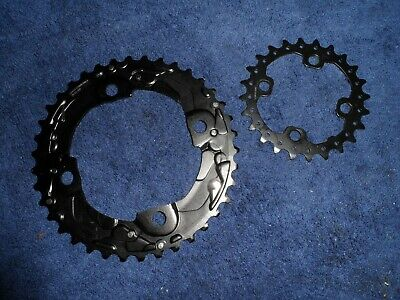Shimano 38/24 10s Chainrings (104/64BCD) New • 15£