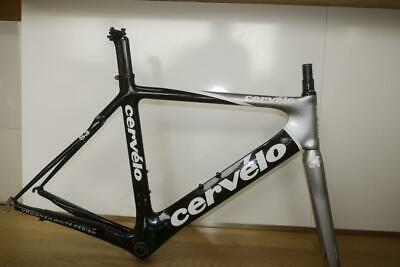 Near Mint Cervelo Aero S3 Frame And Forks With Seat Post, Size 56 • 649£