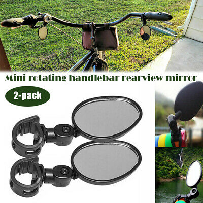 Bicycle Rearview Mirror Adjustable Handlebar Mirrors Rearview For Mountain Bike • 4.53£
