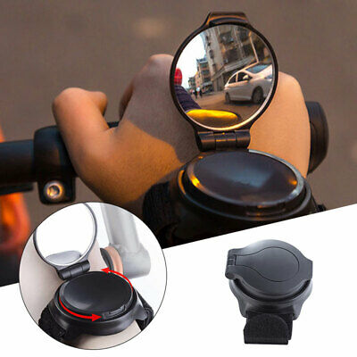 Adjustable Armband Rearview Bicycle Mirror Wrist Band 360° Bike Rear View Mirror • 10.50£
