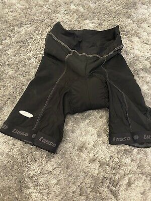 Professional Cycling Clothing Lusso Black Cycling Shorts Size Large BNWOT • 0.99£