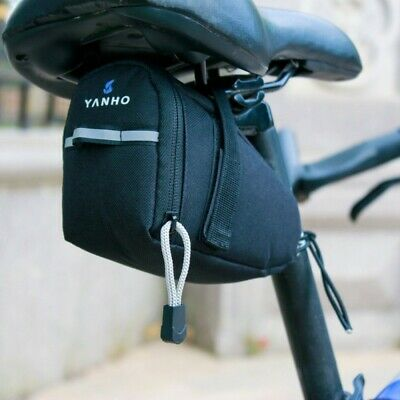 Bicycle MTB Bike Saddle Bag Under Seat Storage Rear Tail Pouch Cycling Outdoor • 5.99£