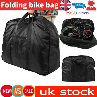 Quality Portable Folding Bike Carry Bag Strong Bicycle Cycle Travel Storage • 20.99£