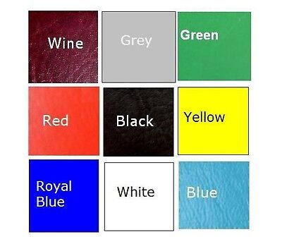 Coloured Motorcycle Seat Cover Motorbike Material Kit Vinyl Fabric Bike Xl L M S • 14.40£