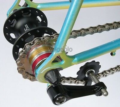 Forged SINGLESPEED TENSIONER Custom Sprung Or Un-Sprung Single Speed Chain • 19.95£