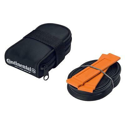 Continental Road Bike Saddle Bag Inc Tube And Tyre Levers 700 X 18-25 • 13.99£