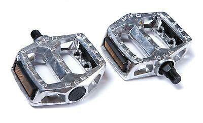 SPRINT 1/2  LARGE PLATFORM Bike Bicycle PEDALS In ALLOY & REFLECTORS New • 12.99£