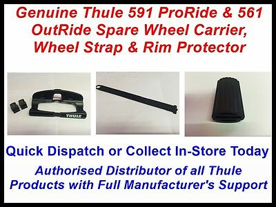 Thule Spare 591 ProRide Wheel Holder Strap & Rim Protector OutRide Roof Carrier • 24.79£