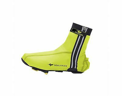SealSkinz Lightweight Halo Cycling Overshoes - Hi-Vis Yellow • 19.95£