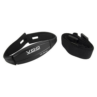 VDO MC 2.0 WL Heartrate Kit Replacement Sensor & Strap For Bicycle Computer New • 15.73£