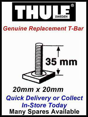 Genuine Thule 598 Cycle Carrier Single Replacement 35mm T-bar Bolt T-track Pin • 4.99£