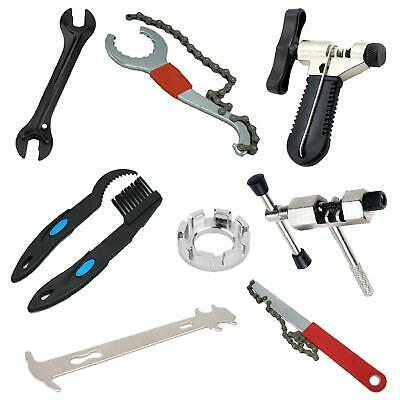 BICYCLE CHAIN & GEAR TOOLS Bike Wheel/Pedal Spanners & Wrenches Repair/Removal • 17.99£