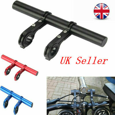 Handlebar Extension Mount Bicycle Bike Handle Bar Bracket Extender Holder • 9.12£