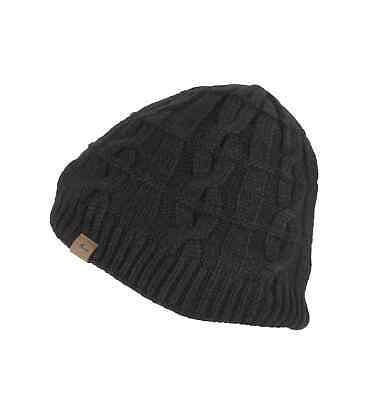 SealSkinz Waterproof Cold Weather Cable Knit Beanie Hat • 22.50£