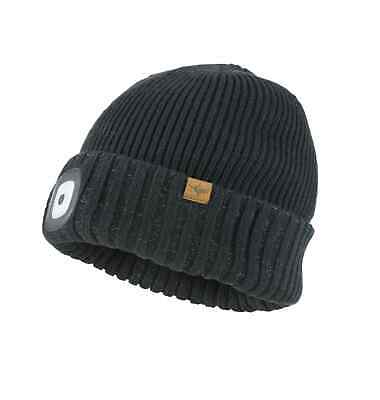SealSkinz Waterproof Cold Weather LED Roll Cuff Beanie Hat • 31.50£