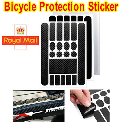 Bicycle Decals Sticker Frame Stickers Protection Kit For Road Mountain Bike MTB • 3.99£