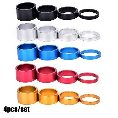 Aluminum Alloy Headset Stem Spacer Fork Washer Cap For Road Bike Accessories • 3.44£