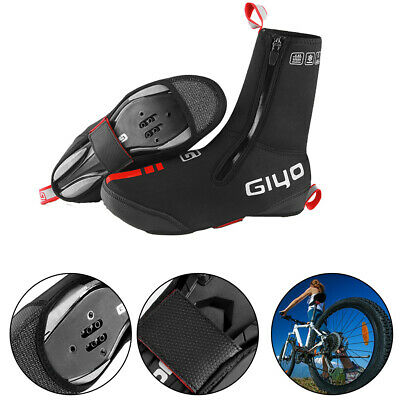Waterproof Cycling Bike Overshoes Windproof Shoe Cover Thermal Winter Warm S-XL • 18.95£