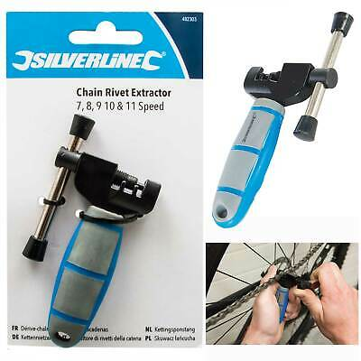 Silverline Bicycle Chain Rivet Extractor For Shimano HG And UG Chains Bike Tools • 6.93£