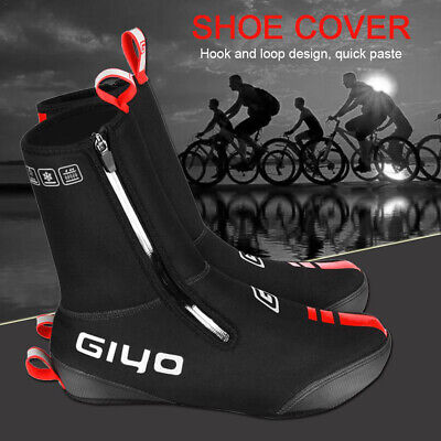 Bike Cycle Shoe Covers Winter Waterproof Cycling Overshoes Black For Mens Womens • 18.95£