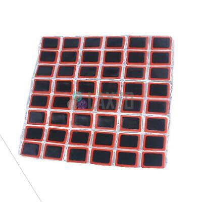 48pcs Rubber Puncture Patches Bicycle Bike Tire Tyre Tube Repair Patches • 3.29£