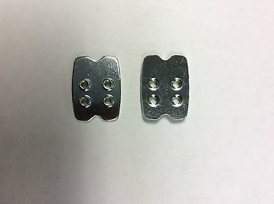 Shimano Shoe, MTB, Spd Pedal, Replacement Shoe Cleat Nut Plate, Backplate X2 • 8.99£