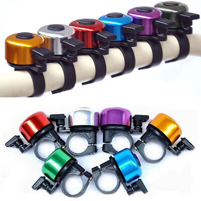 Hot Bike Bicycle Handlebar Bell Metal Loud Horn Ring Safety Sound Alarm 6 Colors • 2.69£