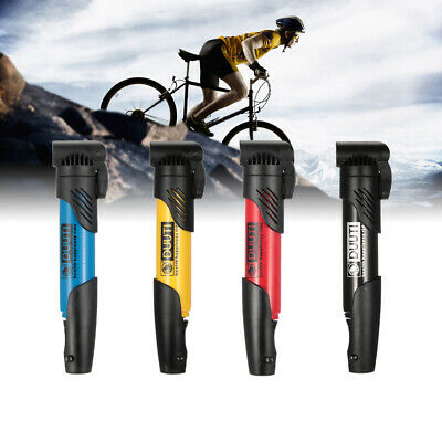 Mini Portable Bicycle Air Pump Bike Tire Inflator MTB Road Bike Cycling Pump UK • 5.69£