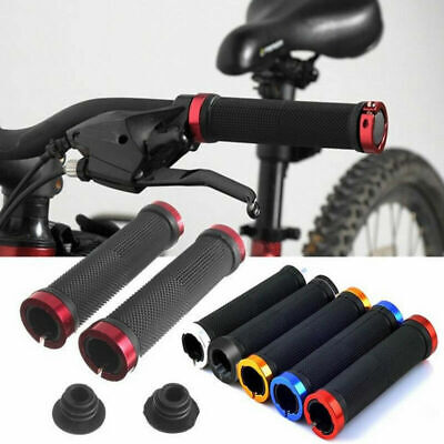 2pcs Bmx Mtb Cycle Bicycle Mountain Bike Handle Bar Grips • 5.58£