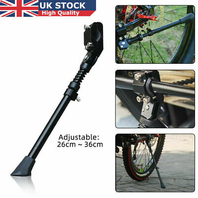 Adjustable Bike Kick Stand Cycle Prop Duty Heavy Foot Rubber Mountain Bicycle • 7.99£