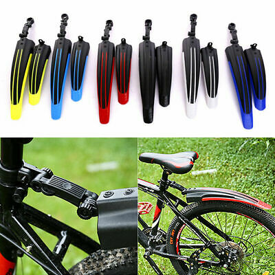 Front/Rear Mud Guards Mudguard Fenders For Mountain Bicycle Bike Cycling Quality • 4.99£