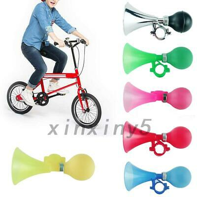 Kids Bike Alarm Bell Silicone Hooter Child Bicycle Squeeze Horn Toy Hooter • 2.78£