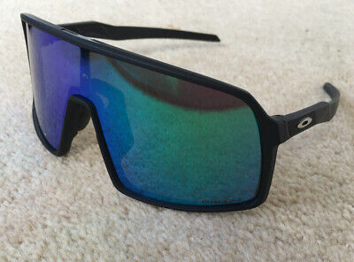 Cycling Sunglasses With Interchangeable Lenses And Case. Mirrored Visor Lens • 5.50£
