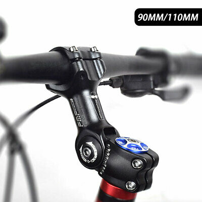 Adjustable MTB Mountain Bike Stem Adjustable Bicycle Handlebar Fork Riser 31.8mm • 11.79£