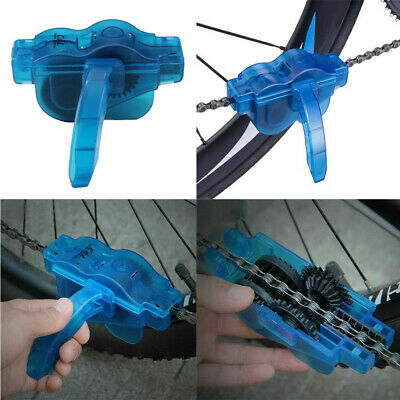 Bicycle Bike Chain Cleaner Bike Maintenance Tool Chain Cleaning Brushes A8 • 5.79£