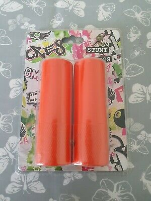 Stunt Pegs Orange Bmx 10mm + 14mm Adapters Included • 14.95£