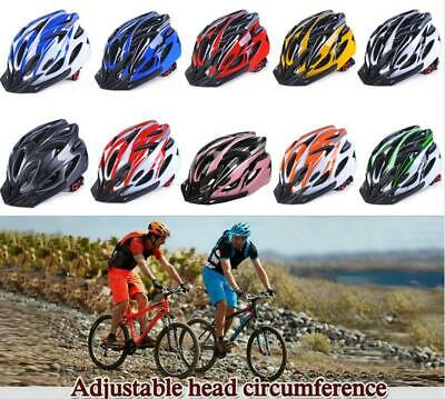 21 Holes Bicycle Helmet Bike Light Road Cycling Adult Adjustable Safety Helmet • 10.18£