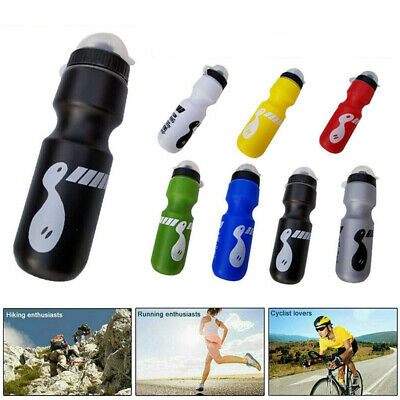 750ML Mountain Bike Bicycle Cycling Water Drink Bottle Container Dustproof Lid • 3.81£