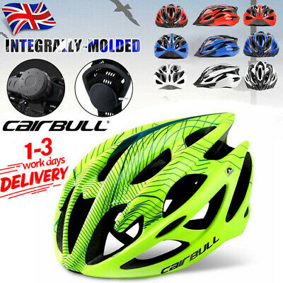 Protective Mens Adult Road Cycling Safety Helmet MTB Mountain Bike Bicycle Cycle • 16.99£